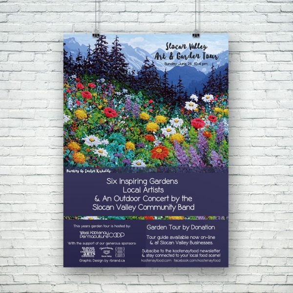 Slocan Valley Art & Garden Tour
